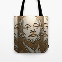 murray Tote Bags featuring Murray by Blake Byers