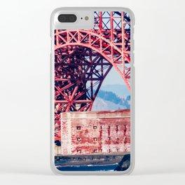 Building Under the Bridge Clear iPhone Case