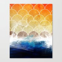 scales Canvas Prints featuring Scales by Michael Scott Murphy