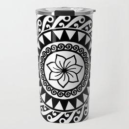 Hibiscus Mandala Travel Mug