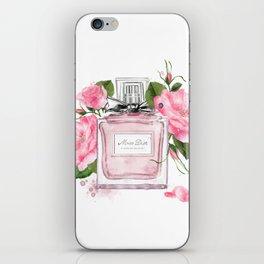Miss pink iPhone Skin