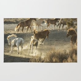 Hijinks at the Waterhole Rug