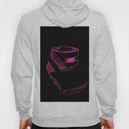 Pink retrO Belt Hoody