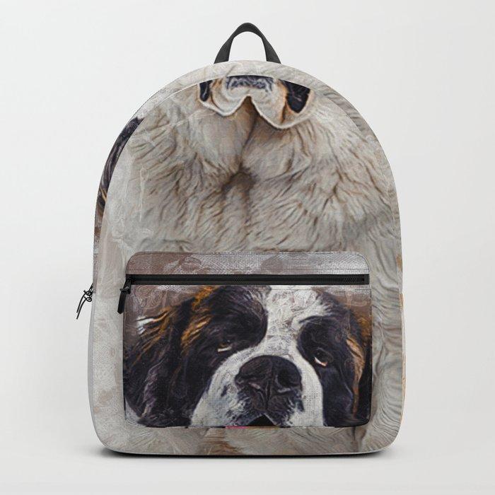 St Bernard Backpack
