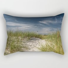 Light Tower and Dunes Rectangular Pillow