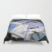 lovers Duvet Covers featuring Lovers by G-Fab