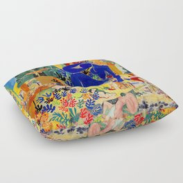 Matisse el Henri Floor Pillow