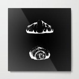 croissant inverse Metal Print