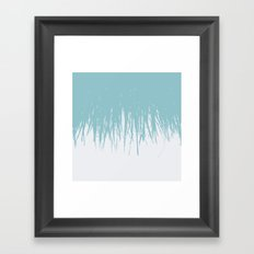 Fringe Salt Water Framed Art Print