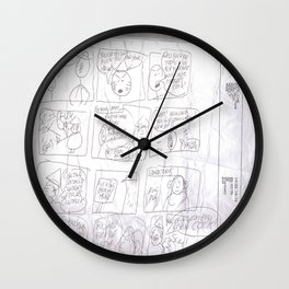 Angry Teacher Wall Clock