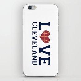 Love Cavs iPhone Skin