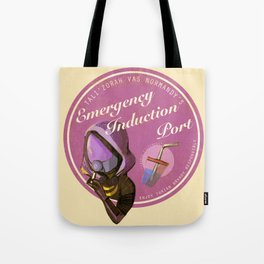 """""""how are you getting drunk?"""" """"very carefully."""" Tote Bag"""