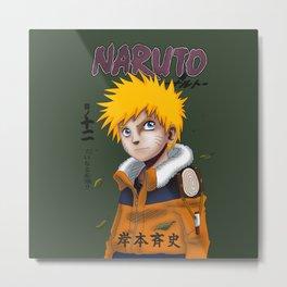 Naruto Uzumaki Metal Print