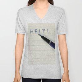 Pen Help Unisex V-Neck