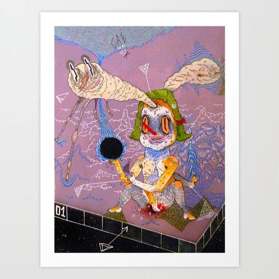 ephebophilia Art Print