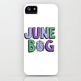 June Bug iPhone Case