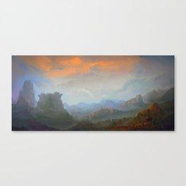 Ringwall Canvas Print