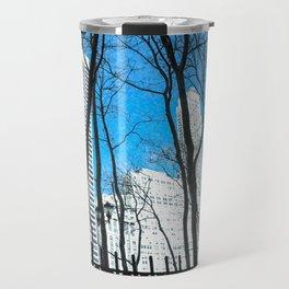 Bryant Park in Winter Travel Mug