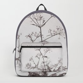 A bouquet of Cow parsley Backpack