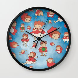 Ponyos! Wall Clock