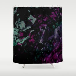 Galactic Print Shower Curtain