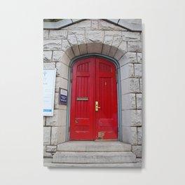 St Paul's Episcopal Church in San Francisco I Metal Print