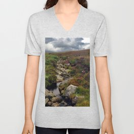 Wicklow Mountains, Republic of Ireland Unisex V-Neck