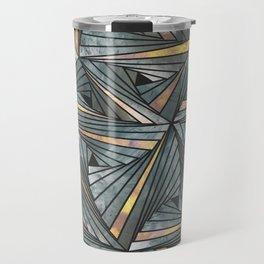 Mesh (Grey and Copper) Travel Mug