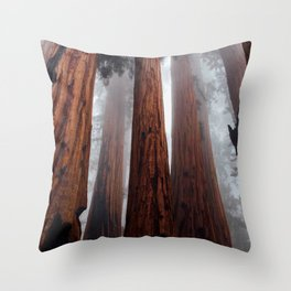 Woodley Forest Throw Pillow