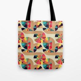 Kaleidoscope Pattern Tote Bag