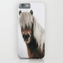 Icelandic Horse - Pony Photo iPhone Case