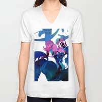 sagittarius V-neck T-shirts featuring SAGITTARIUS by Chandelina