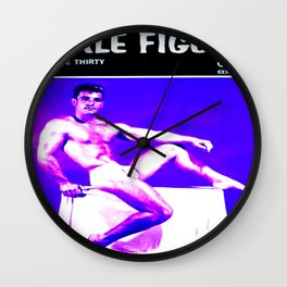 Male Figure 60 Cents Wall Clock