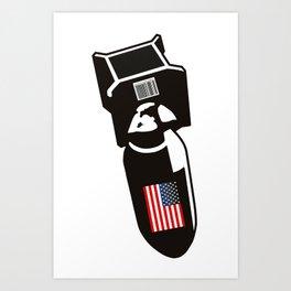 U.S. Bombs Art Print