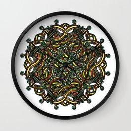 Eye Mandala Wall Clock