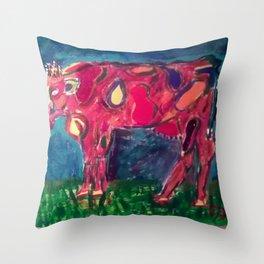 Holstein for Halie Throw Pillow