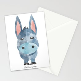 Water Colour Baby Donkey Stationery Cards