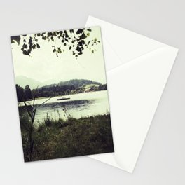 Alpine Lake Stationery Cards