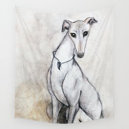 The Greyhound Wearing His Thorn Wall Tapestry