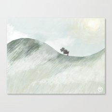 Trek Canvas Print