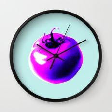 Pink tomatoes Wall Clock