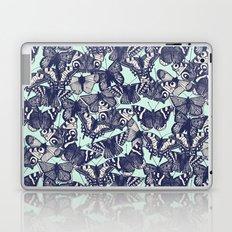 butterfly pale mint Laptop & iPad Skin