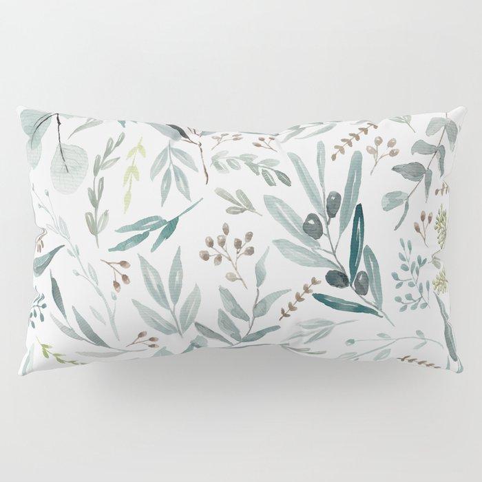 Eucalyptus pattern Pillow Sham
