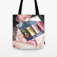 coke Tote Bags featuring COKE by Rayane Guedes XII