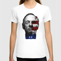 house of cards T-shirts featuring House of Cards by offbeatzombie