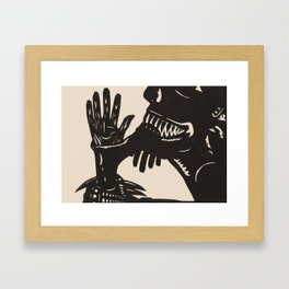 Feast On Their Flesh Framed Art Print