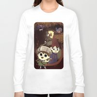 over the garden wall Long Sleeve T-shirts featuring over the garden wall by Tae V