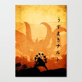 naruto the kyuubi Canvas Print