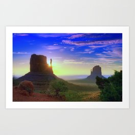LandScaps Art Print