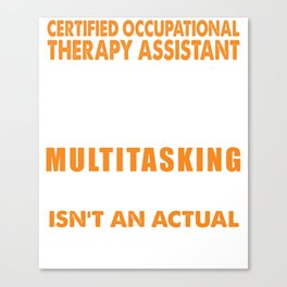 Certified Occupational Therapy Assistant Wizard Canvas Print